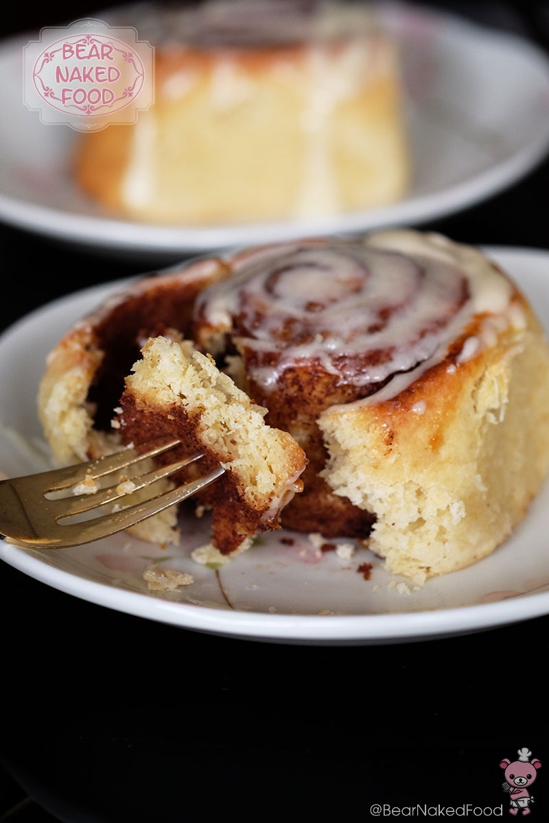 Bear Naked Food Easy Homemade Cinnamon Roll