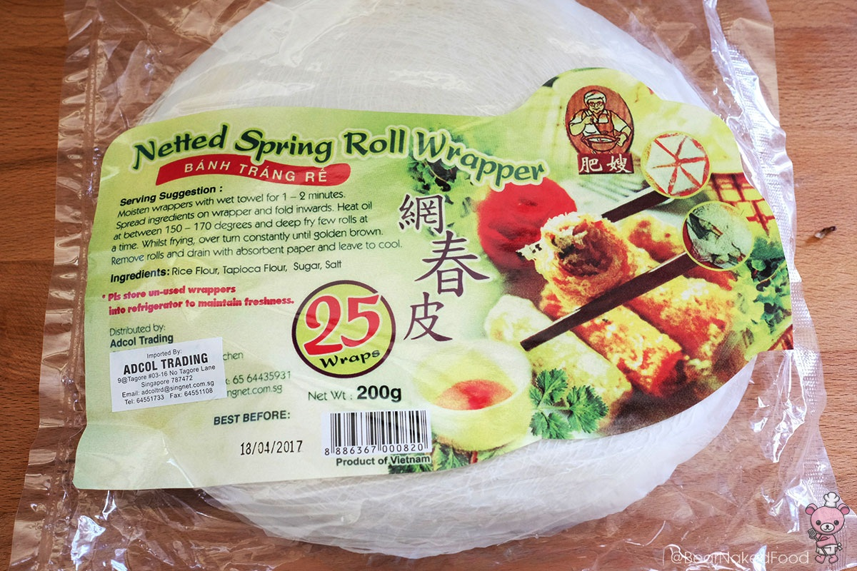 You Could Definitely Use The Usual Spring Roll Pastry Skin Or Rice Paper Roll Found In All Supermarkets For This Recipe The Type Of Fillings Used Are