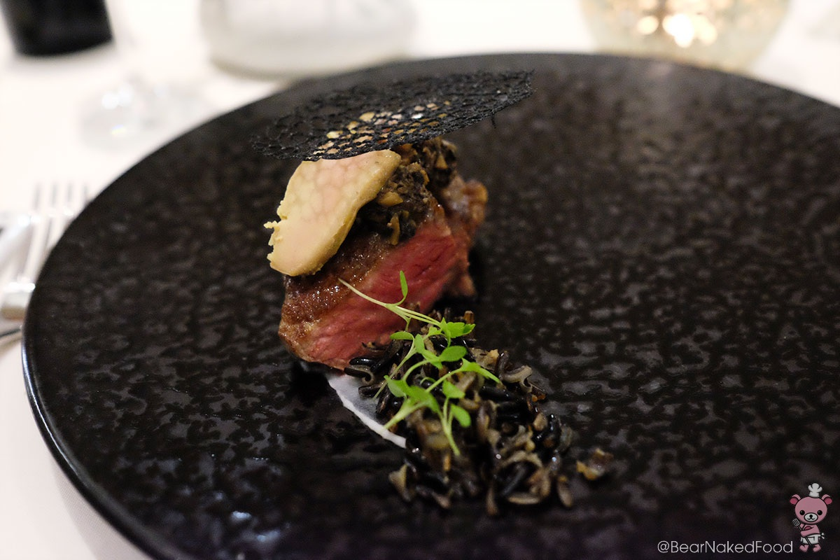 """Nippon Rossini"" Japanese Wagyu Steak / Foie Gras Terrine / Japanese Mushroom Paste / Truffle"