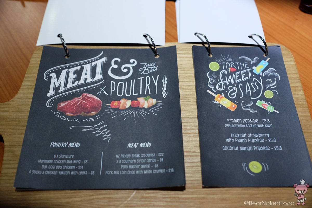 Meat & Poultry selection.