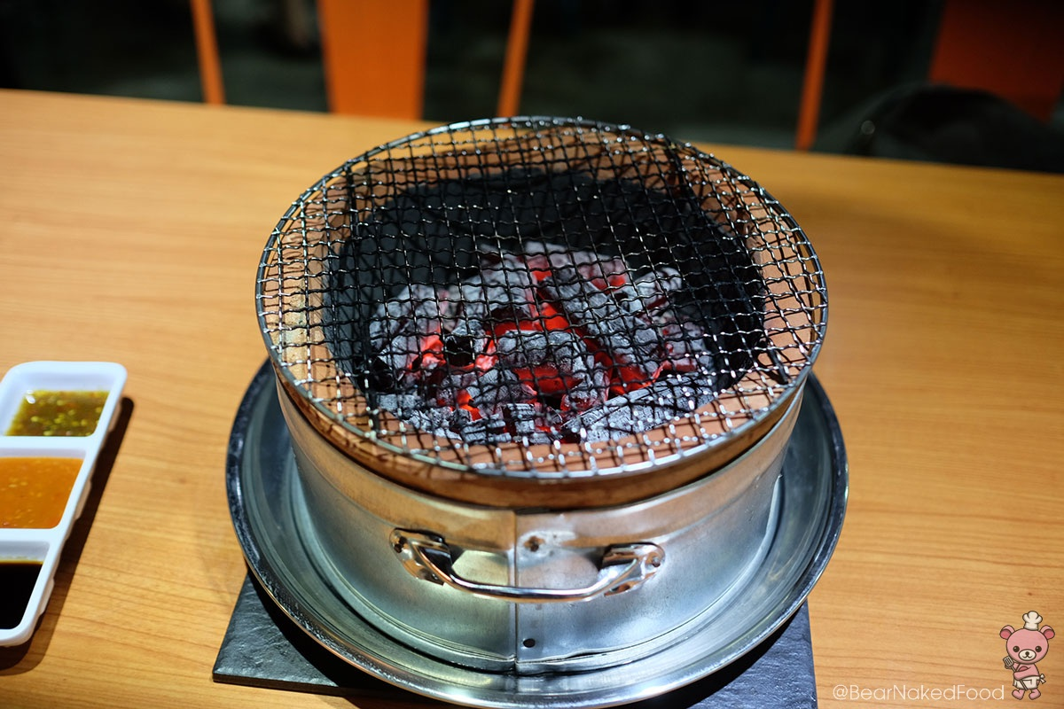 Charcoal Grill.