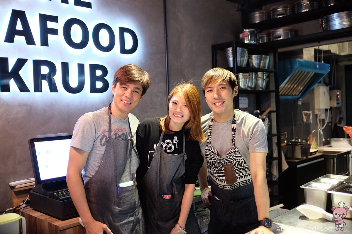 From left to right: Jason, Jia Lih, Shawn