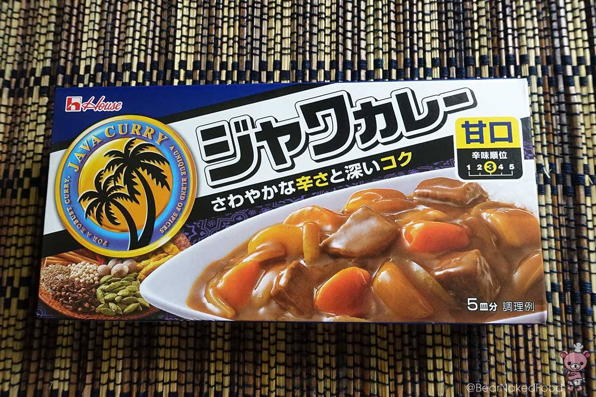 House brand Japanese curry sauce mix.