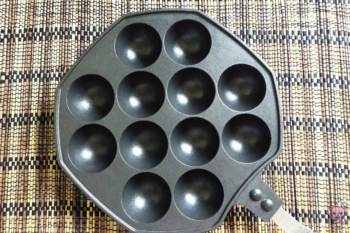 Takoyaki grill pan, which I got online. :-)
