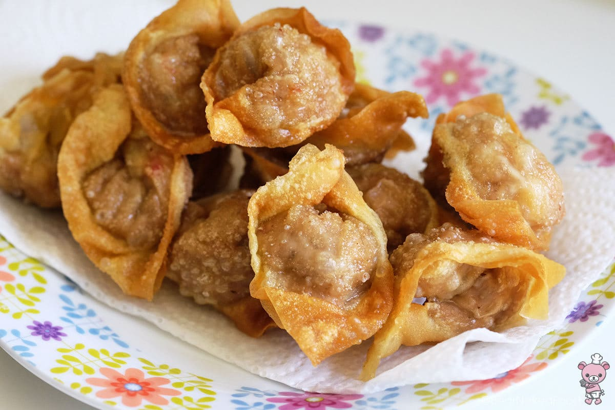 bear naked food fried wonton