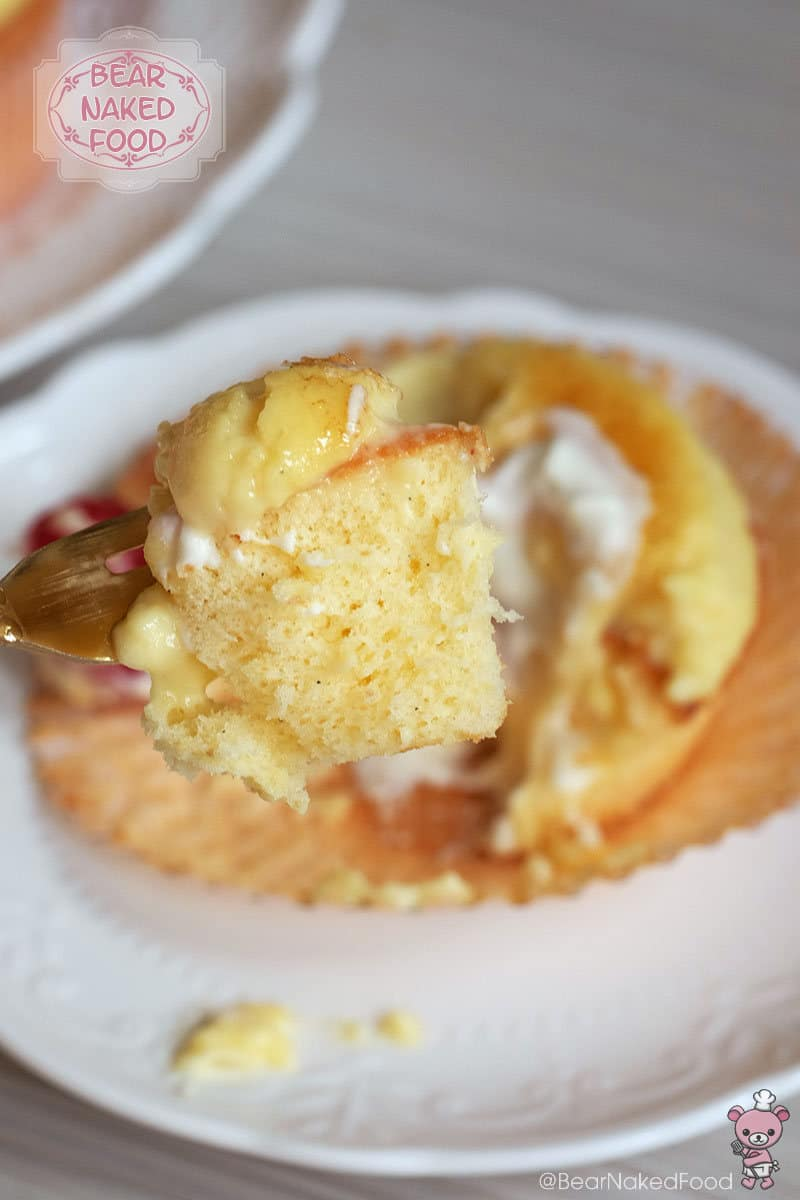 Bear Naked Food creme brulee cupcake