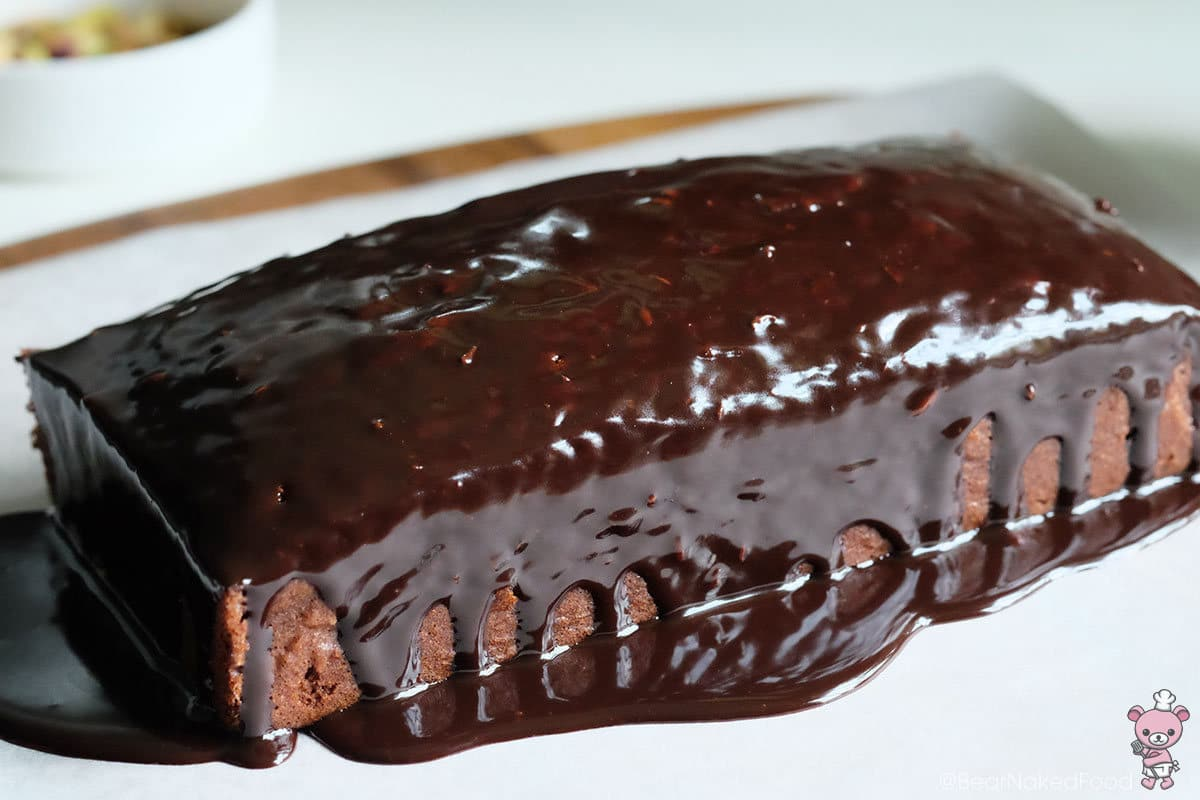 Bear Naked Food back-to-basics dark chocolate pound cake