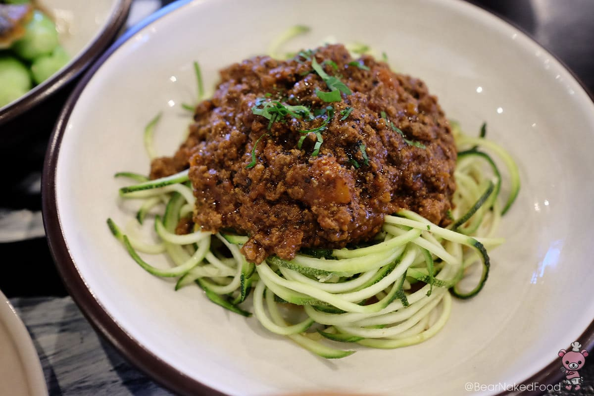 Food Rebel Zoodle Bolognese