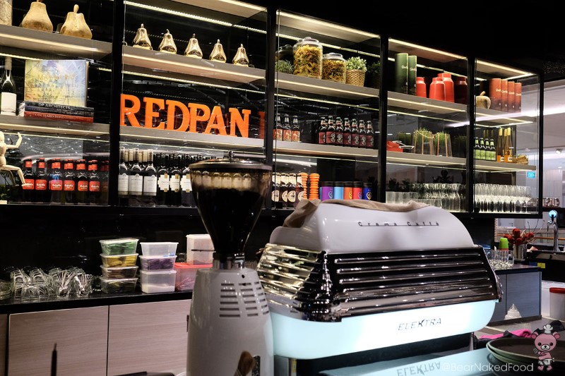 redpan restaurant at marina square