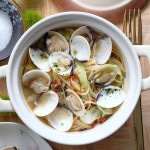 Soup Pasta with Clams