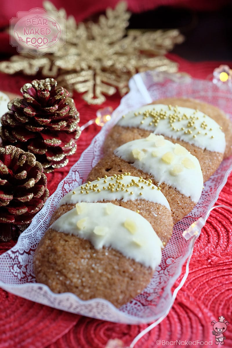 Bear Naked Food Snow Capped Gingersnaps Cookies