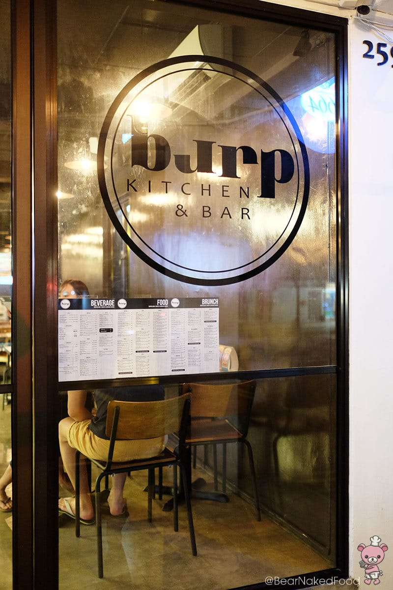 Food Review: Burp Kitchen & Bar – Tanjong Katong's New Kid On The Block
