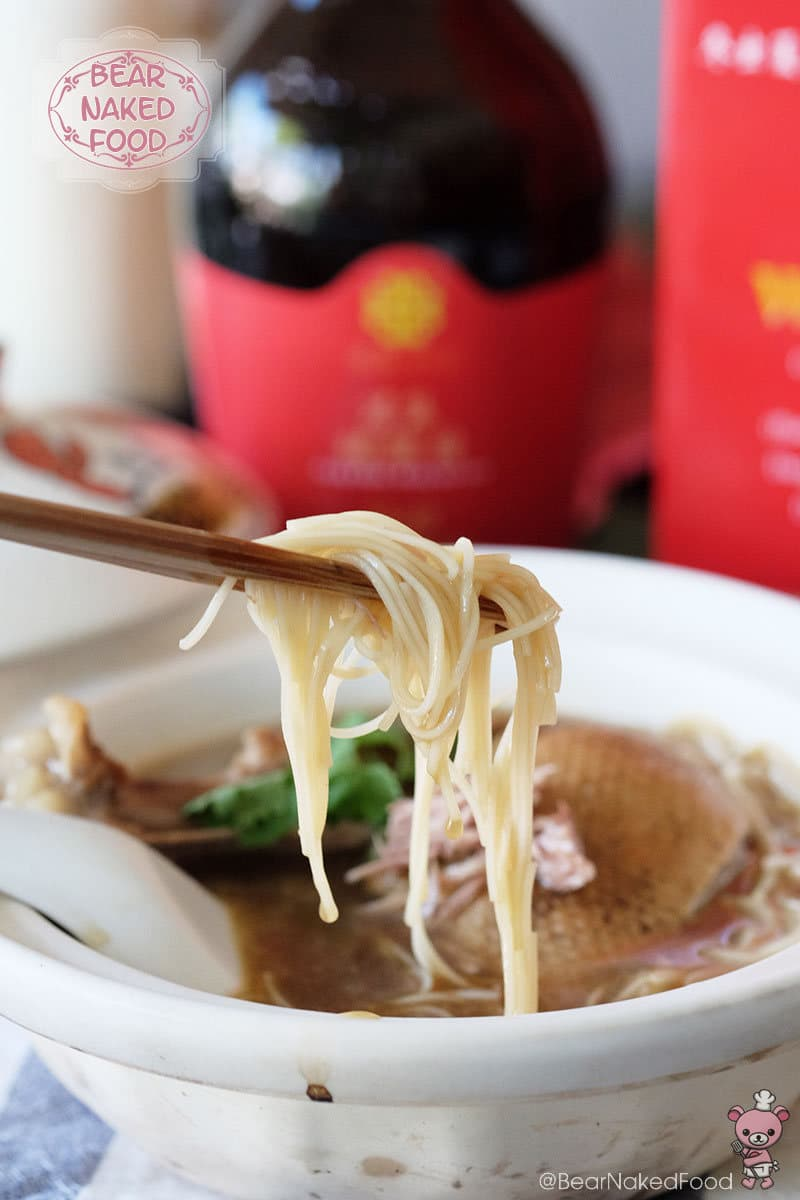 Bear Naked Food Huiji Waist Tonic Herbal Duck Noodles