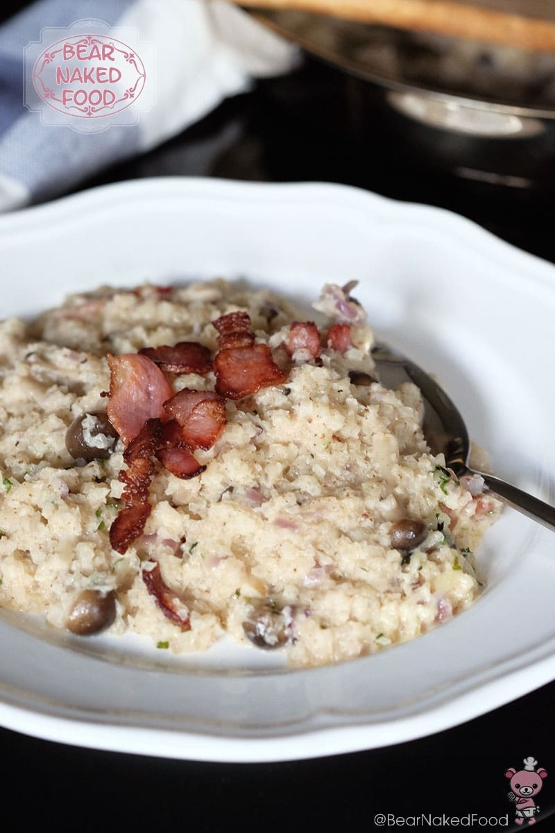Bear Naked Food cauliflower risotto