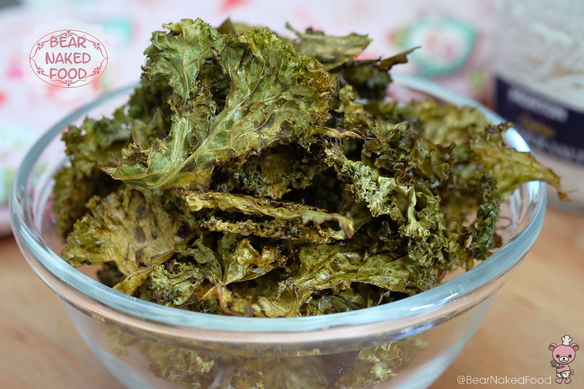 Bear Naked Food sea salt and vinegar kale chips