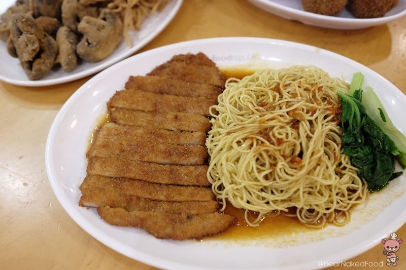 Pork Cutlet Noodle,
