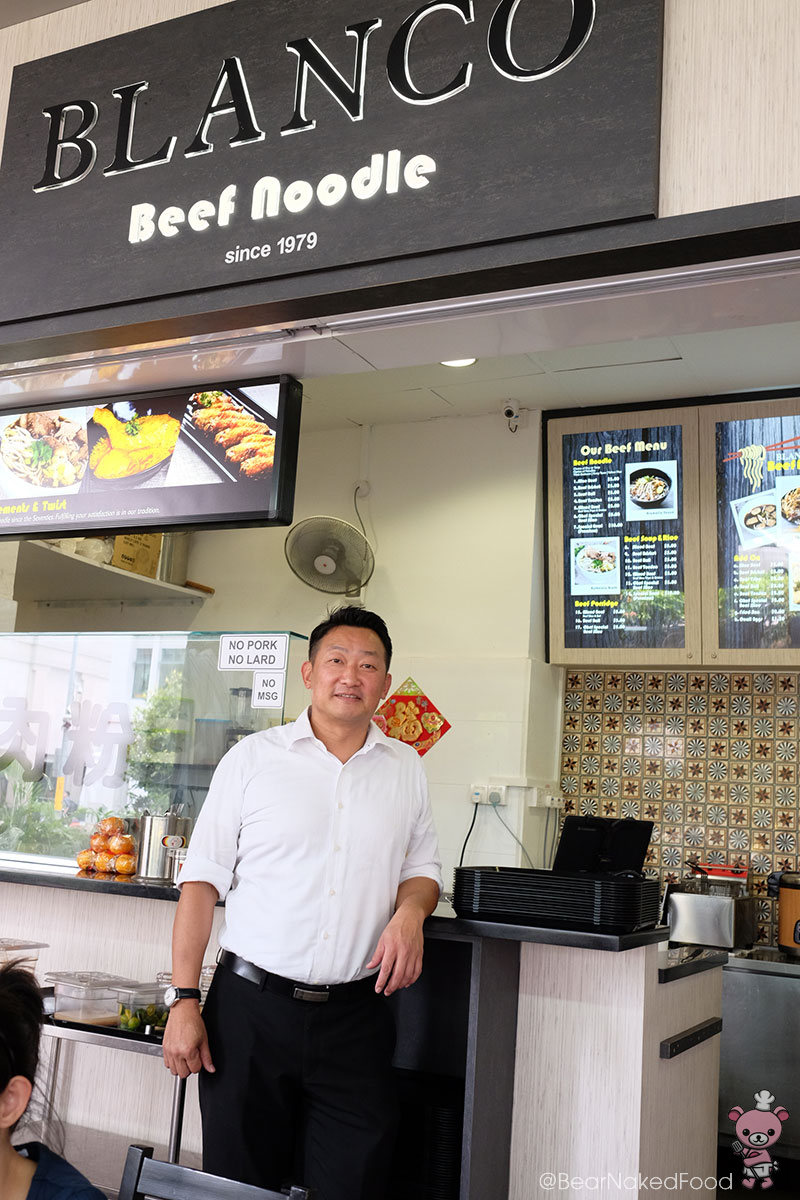 Blanco Beef Noodles owner and recipe developer