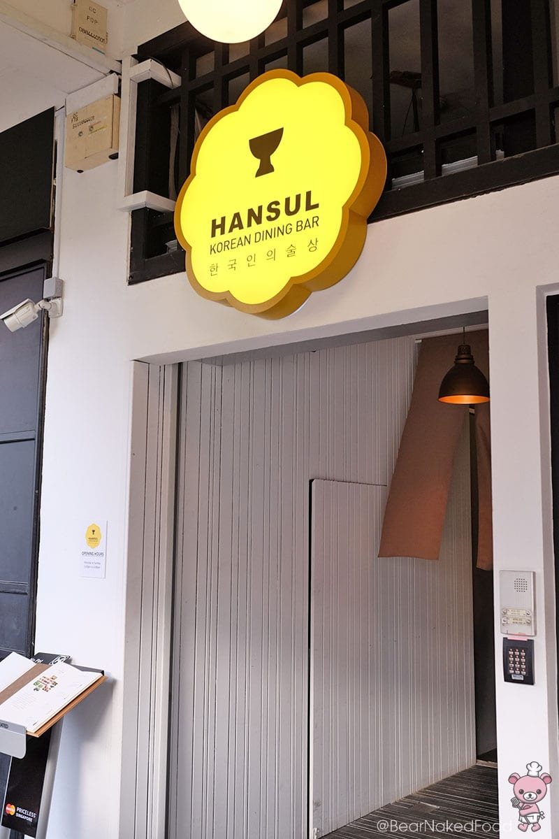 Food Review: Hansul Korean Dining Bar – Modern Korean Drinking and Dining Experience in Tanjong Pagar