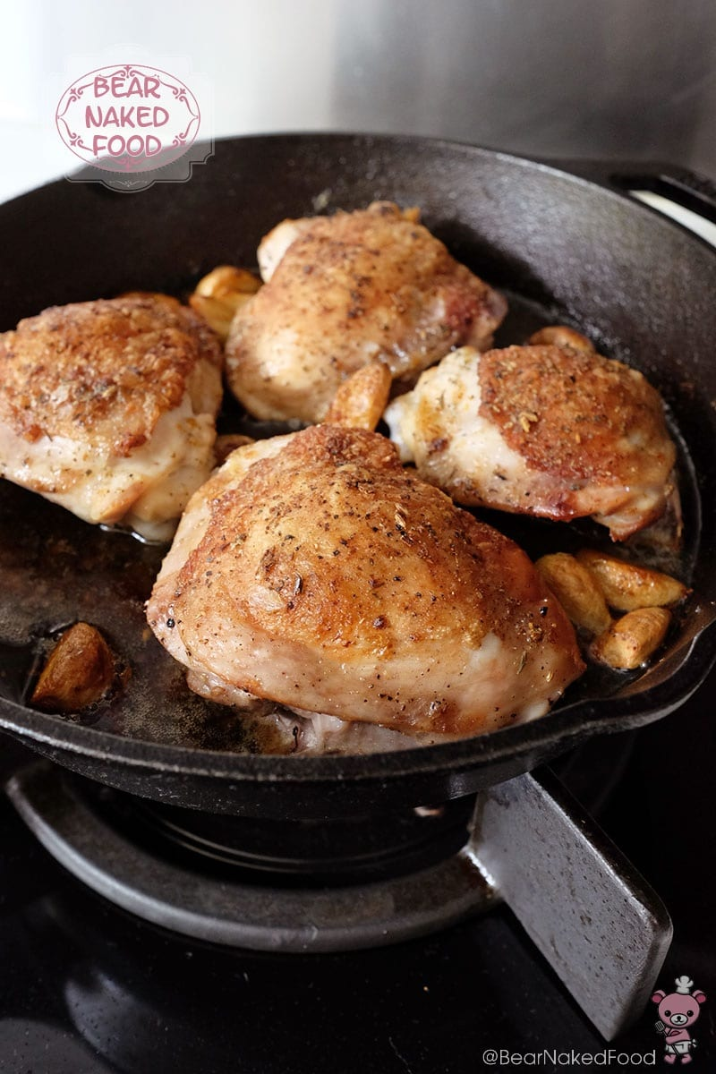 Bear Naked Food Roasted Garlic Clove Chicken