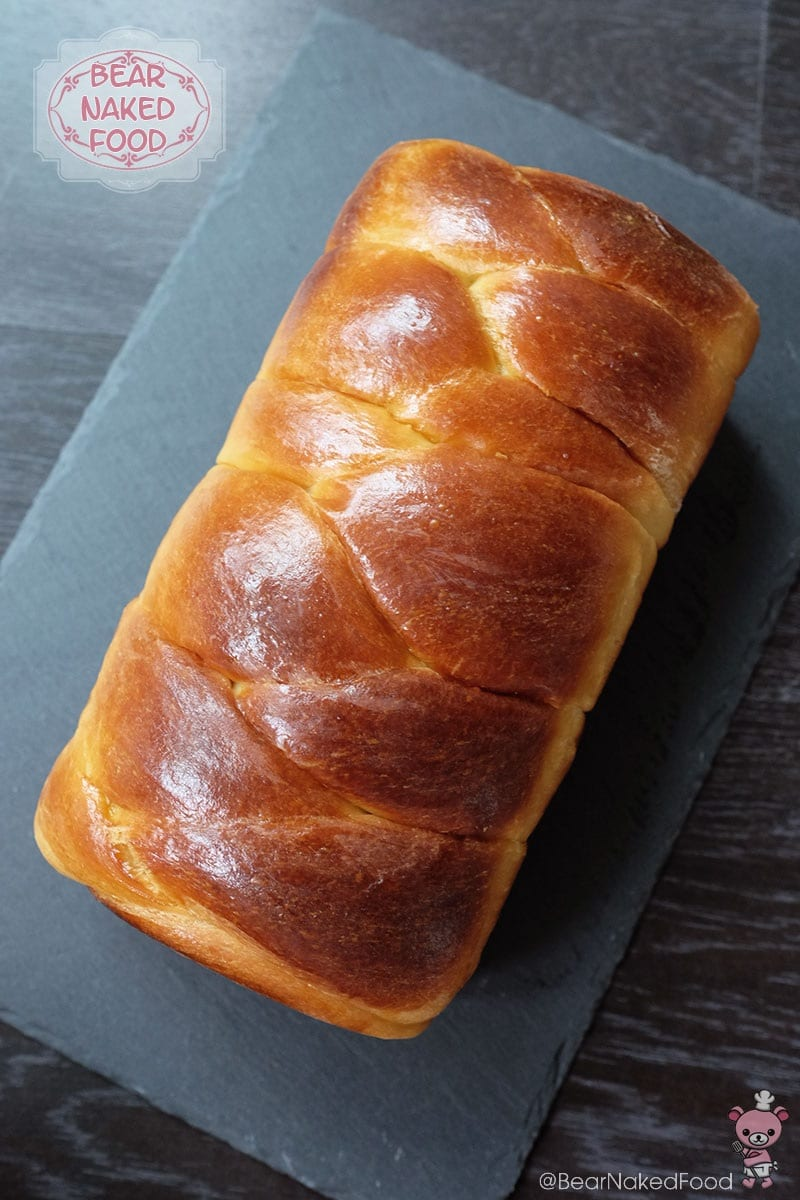 Bear Naked Food Plaited Brioche