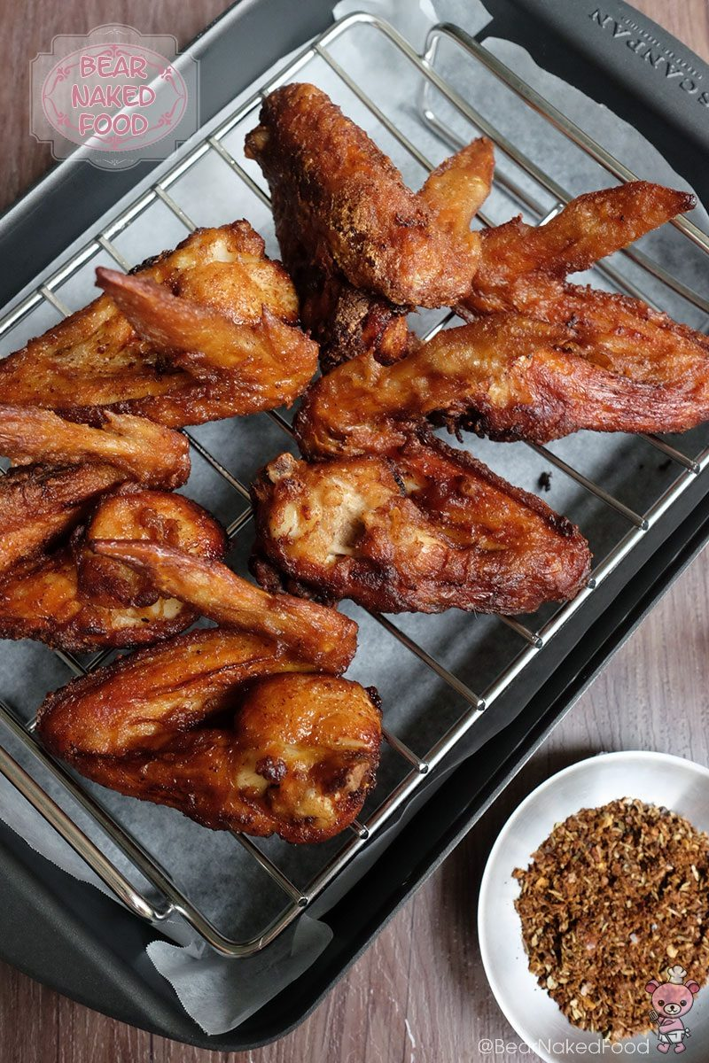 Copycat Ikea Fried Chicken Wings Bear Naked Food