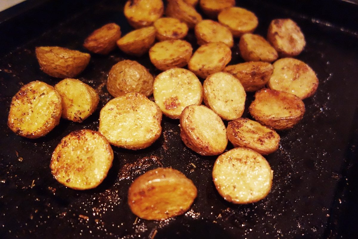 how to cook crispy potatoes in the oven