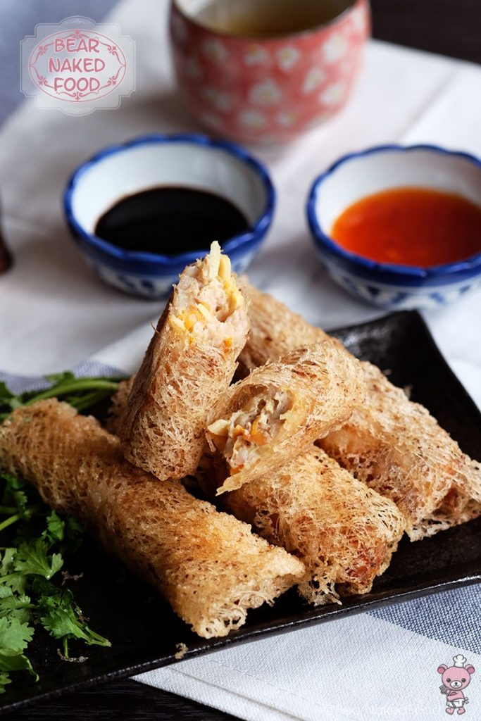 Netted Spring Rolls Bear Naked Food