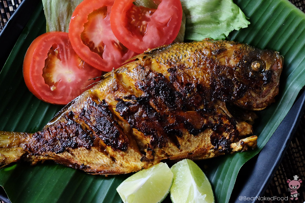 balinese ikan bakar balinese grilled fish bear naked food