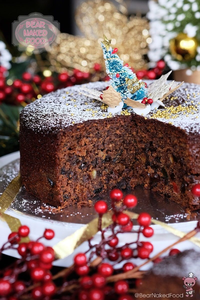 Quick And Easy Christmas Fruit Cake Bear Naked Food