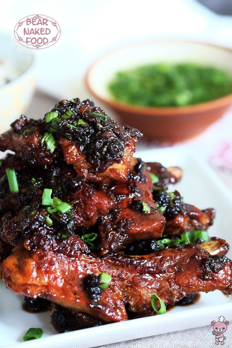 Filipino Adobo Glazed Pork Ribs Bear Naked Food
