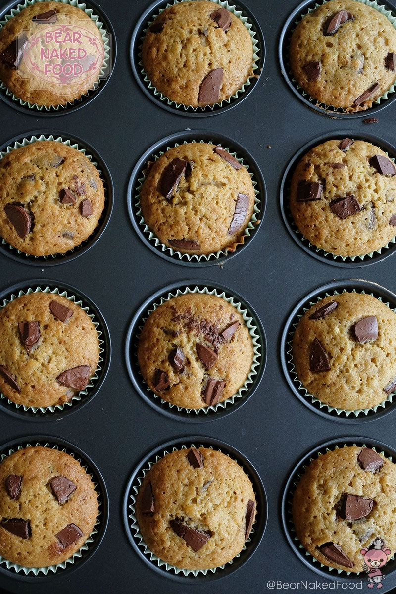 Bear Naked Food sweet potato chocolate chunk muffin