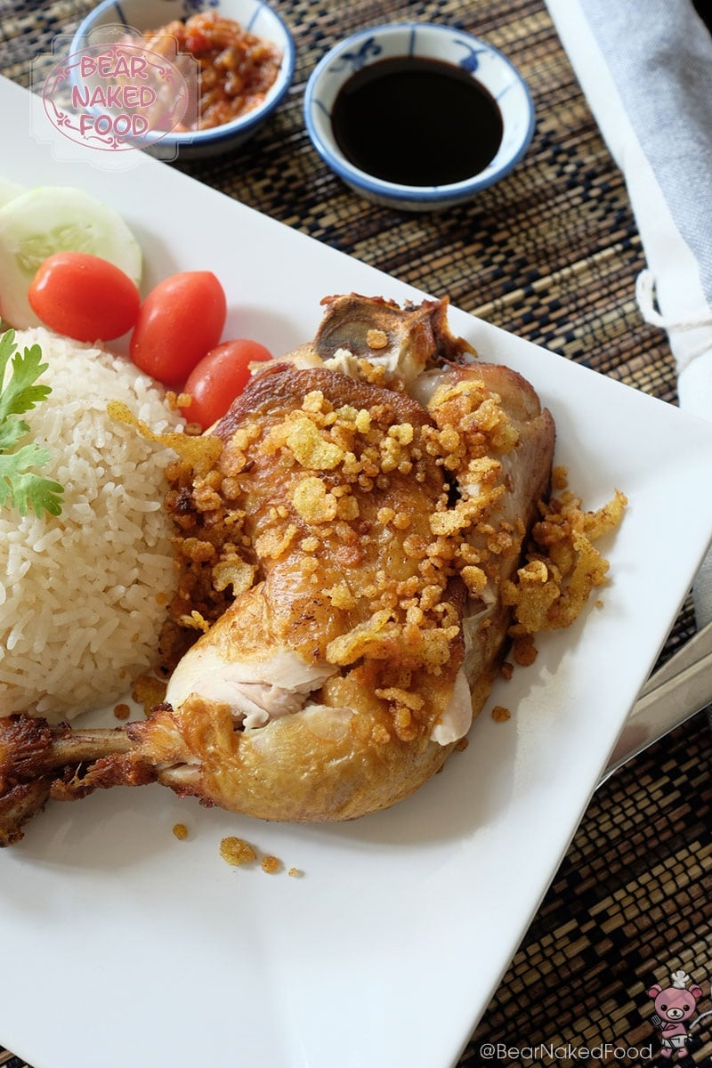 Bear Naked Food Ayam Penyet Indonesian Smashed Fried Chicken
