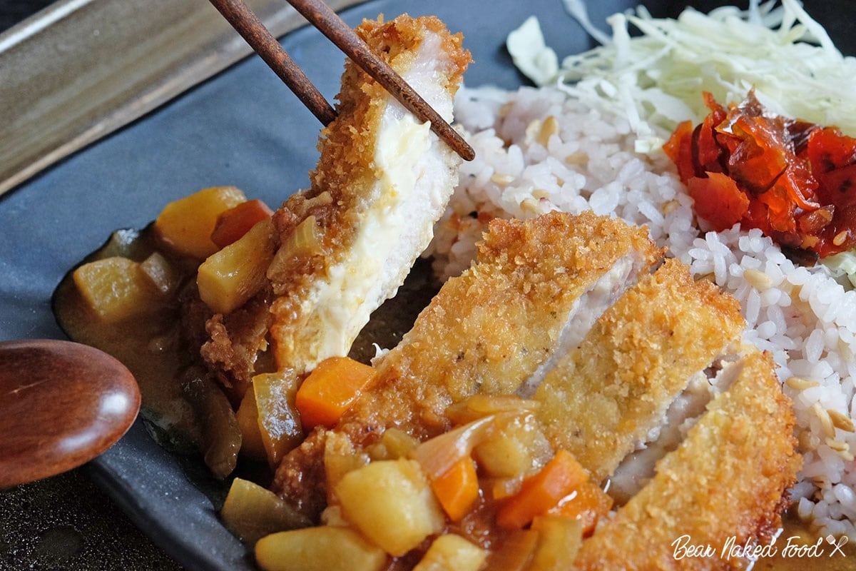 Bear Naked Food Cheese Tonkatsu