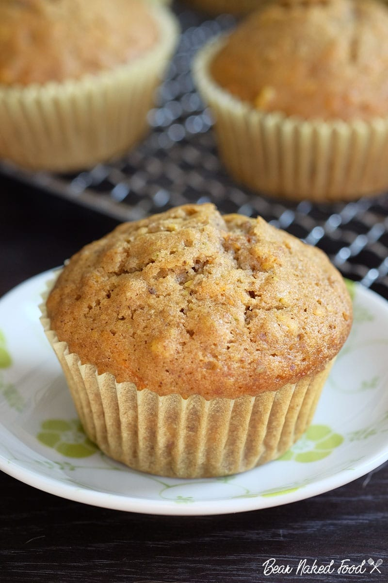 Bear Naked Food Carrot Pistachio Muffins