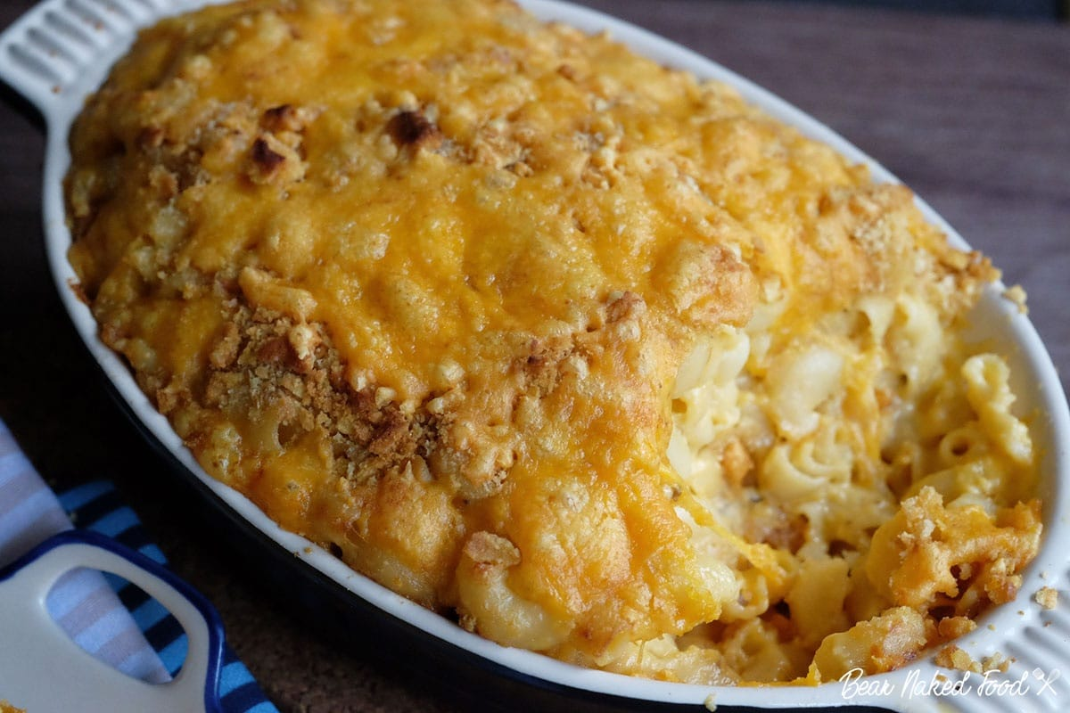 Bear Naked Food Ultimate baked mac and cheese