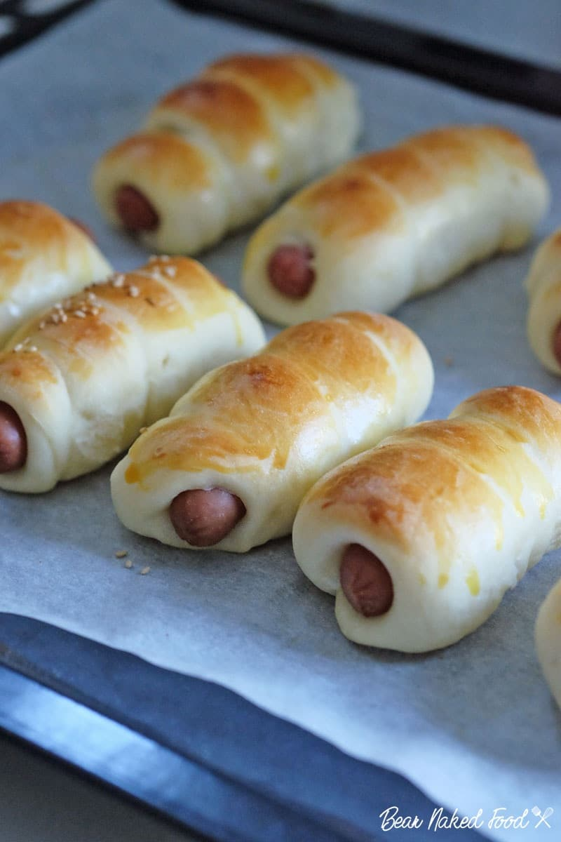 Bear Naked Food cocktail sausage roll