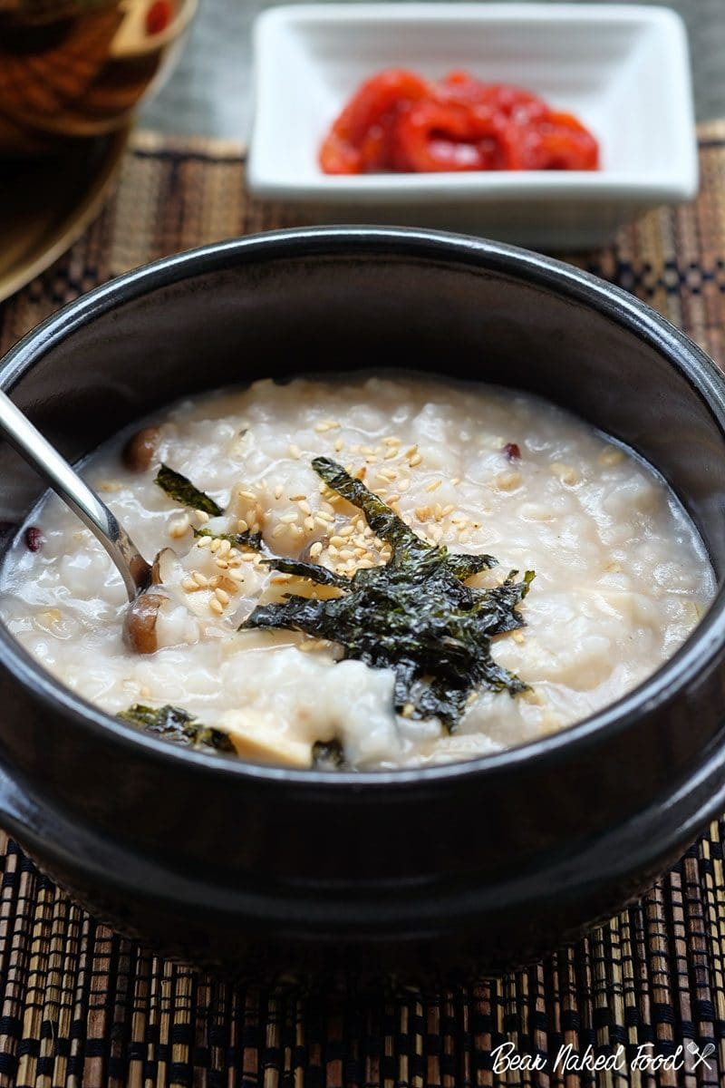 Bear Naked Food Korean Mushroom Porridge