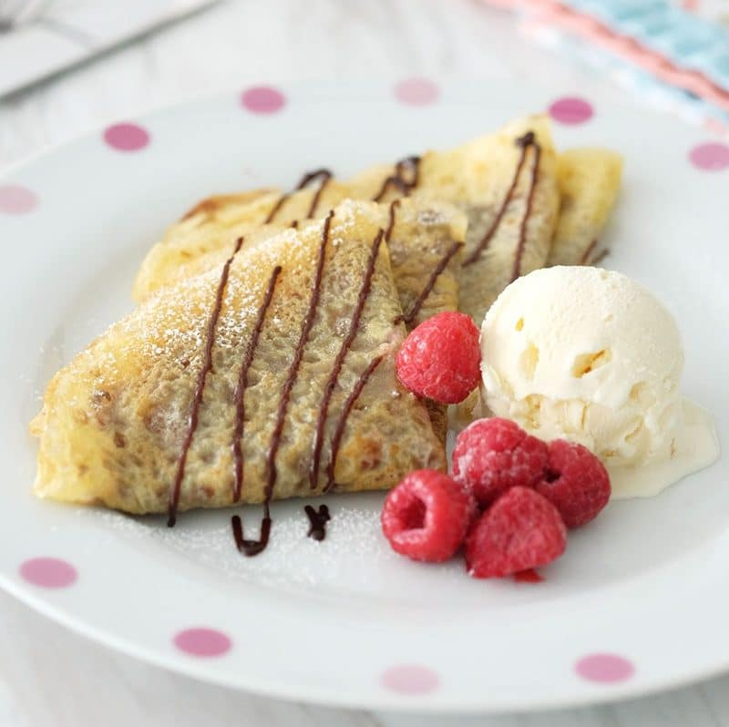 Bear Naked Food easy homemade crepe