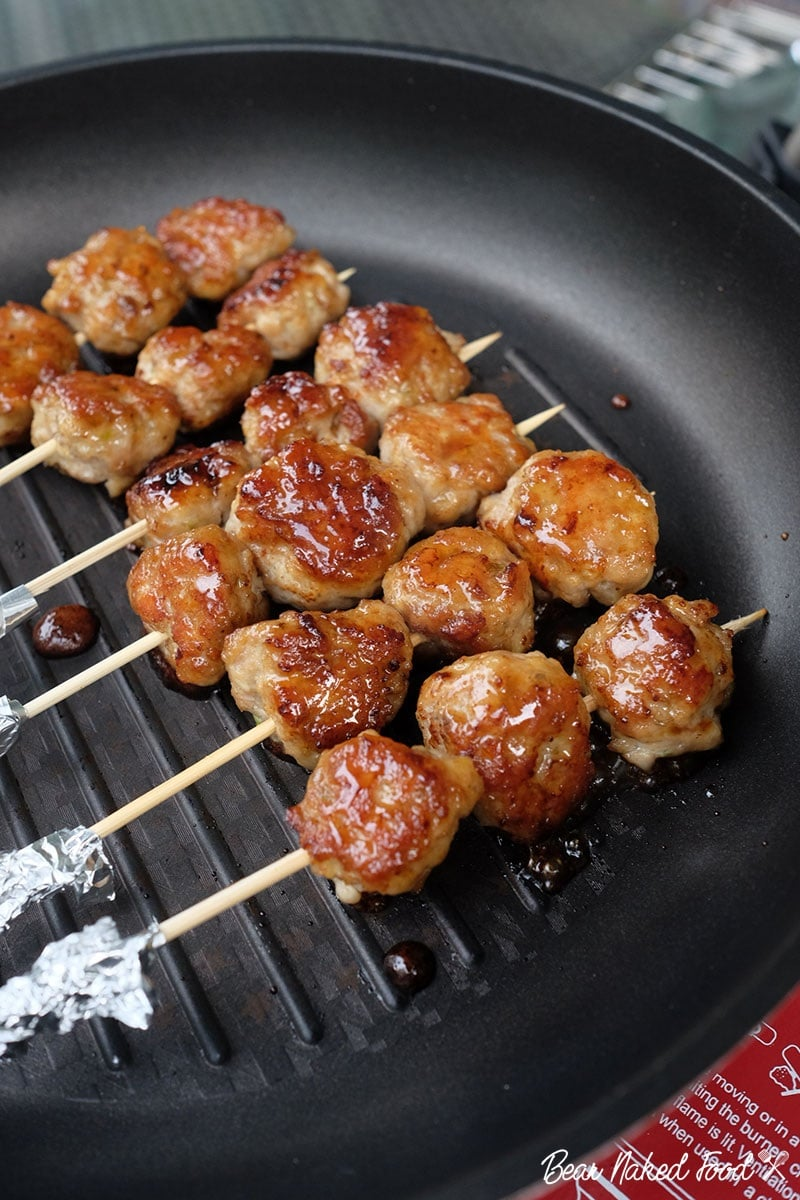 Bear Naked Food Homemade Grilled Chicken Meatballs