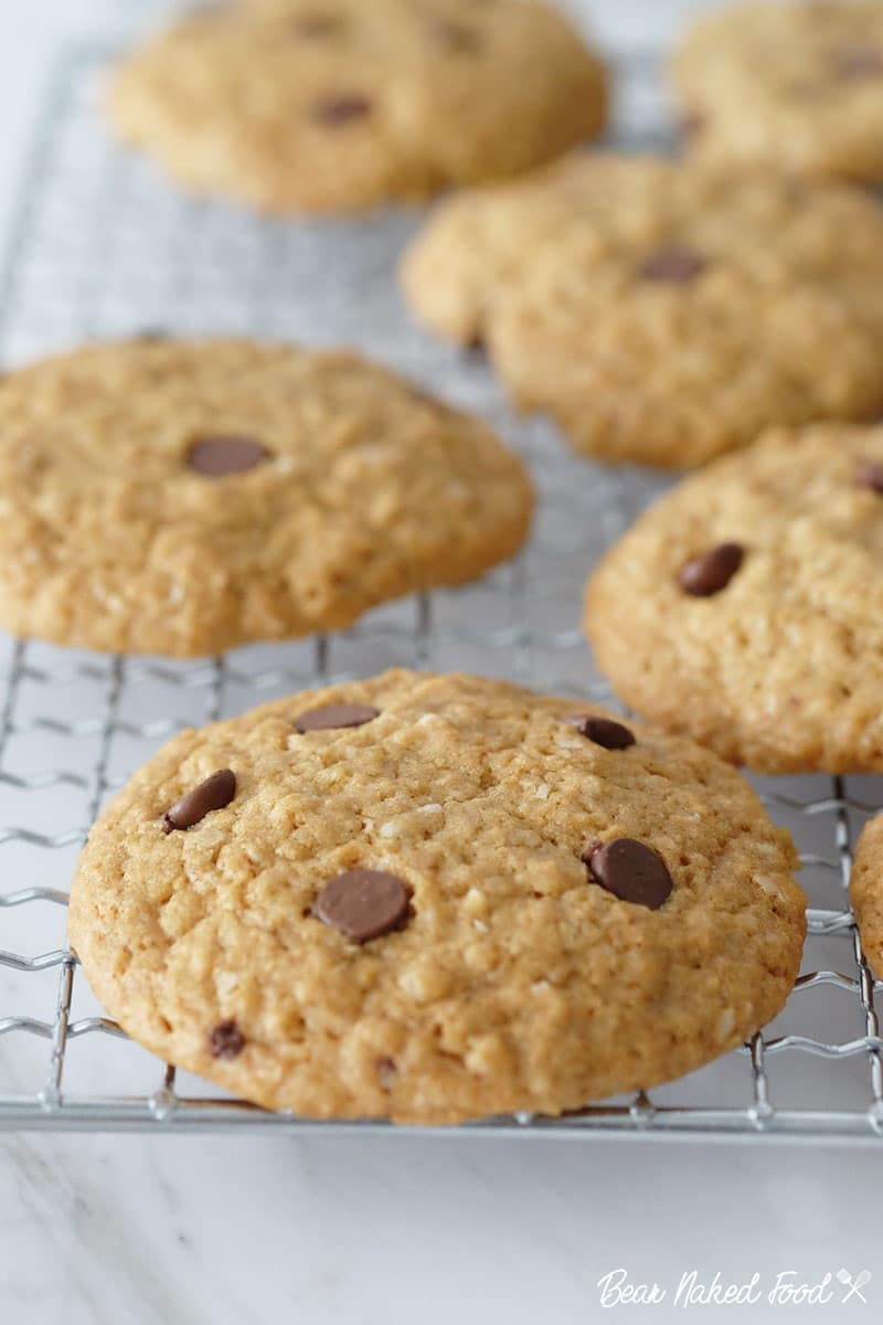 Bear Naked Food soft and chewy oatmeal chocolate chip cookies