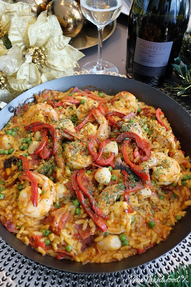 Bear Naked Food Festive Orzo Paella