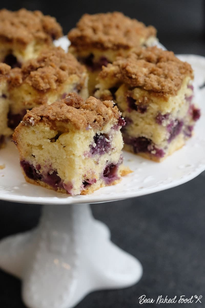 Bear Naked Food blueberry coffee cake