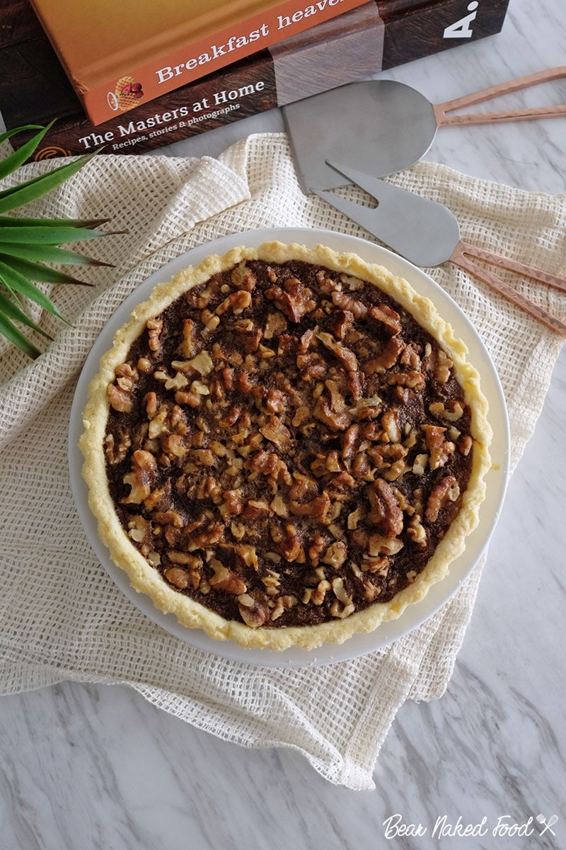 bear naked food easy walnut pie