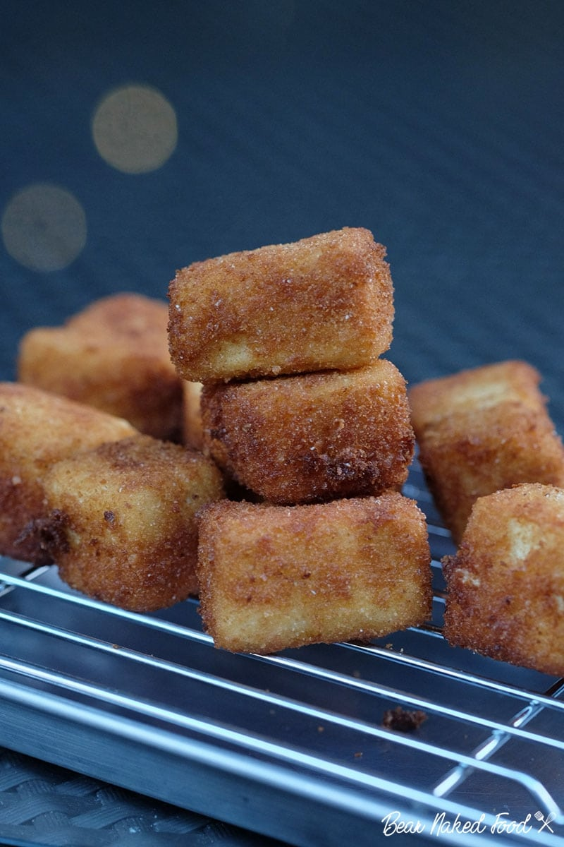 bear naked food crispy fried tofu cubes