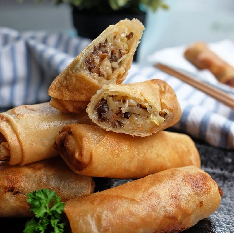 Bear Naked Food Homemade Vegetable Spring Roll