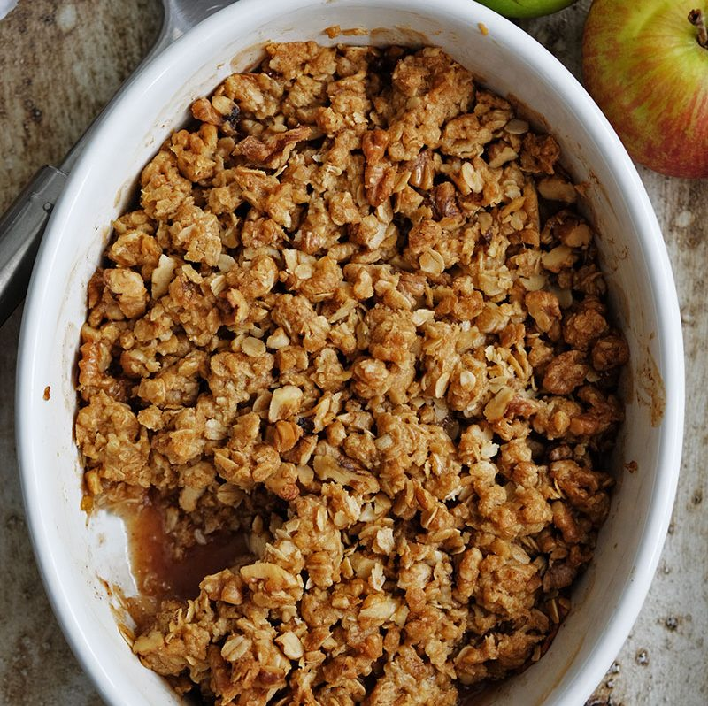 Bear Naked Food Easy Baked Apple Crisp