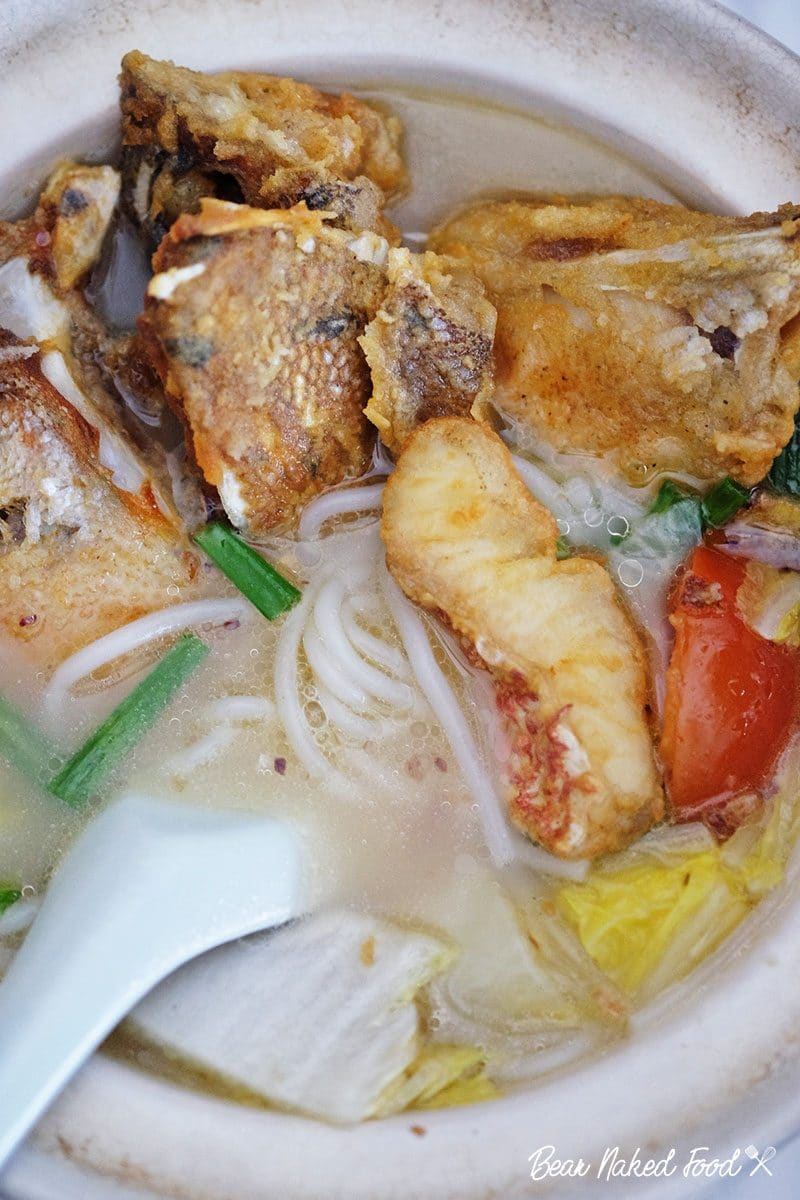 Chinese Fried Fish Soup Bear Naked Food
