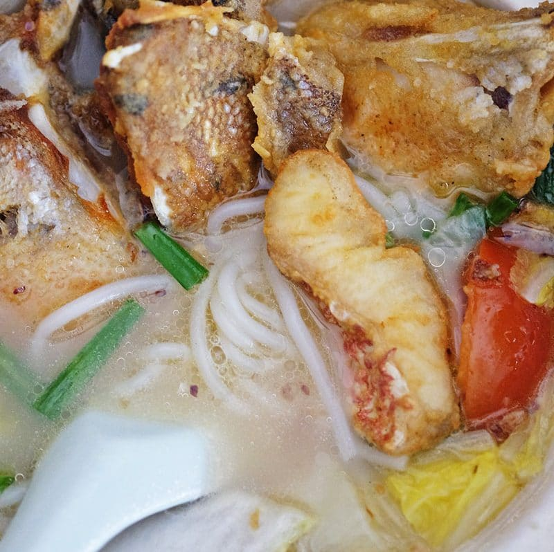 Bear Naked Food Chinese Fried Fish Soup