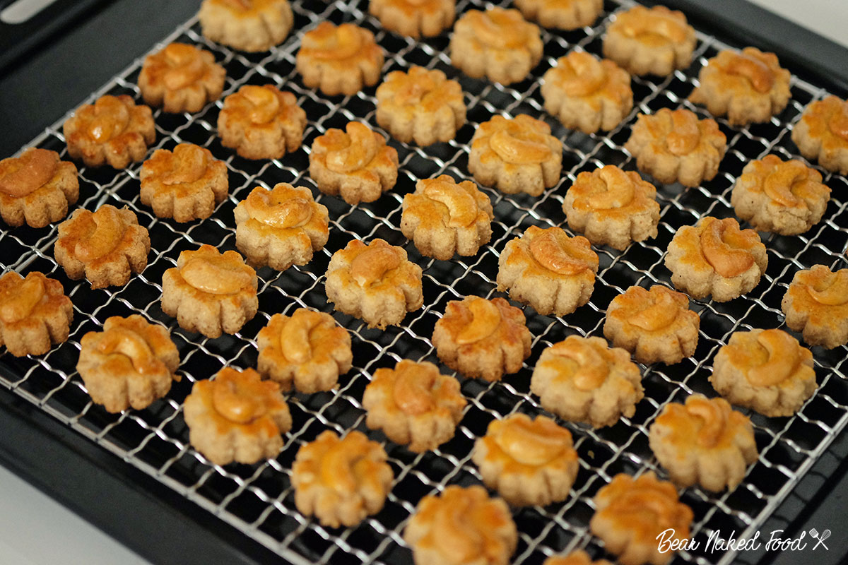 Bear Naked Food Chinese Cashew Cookies
