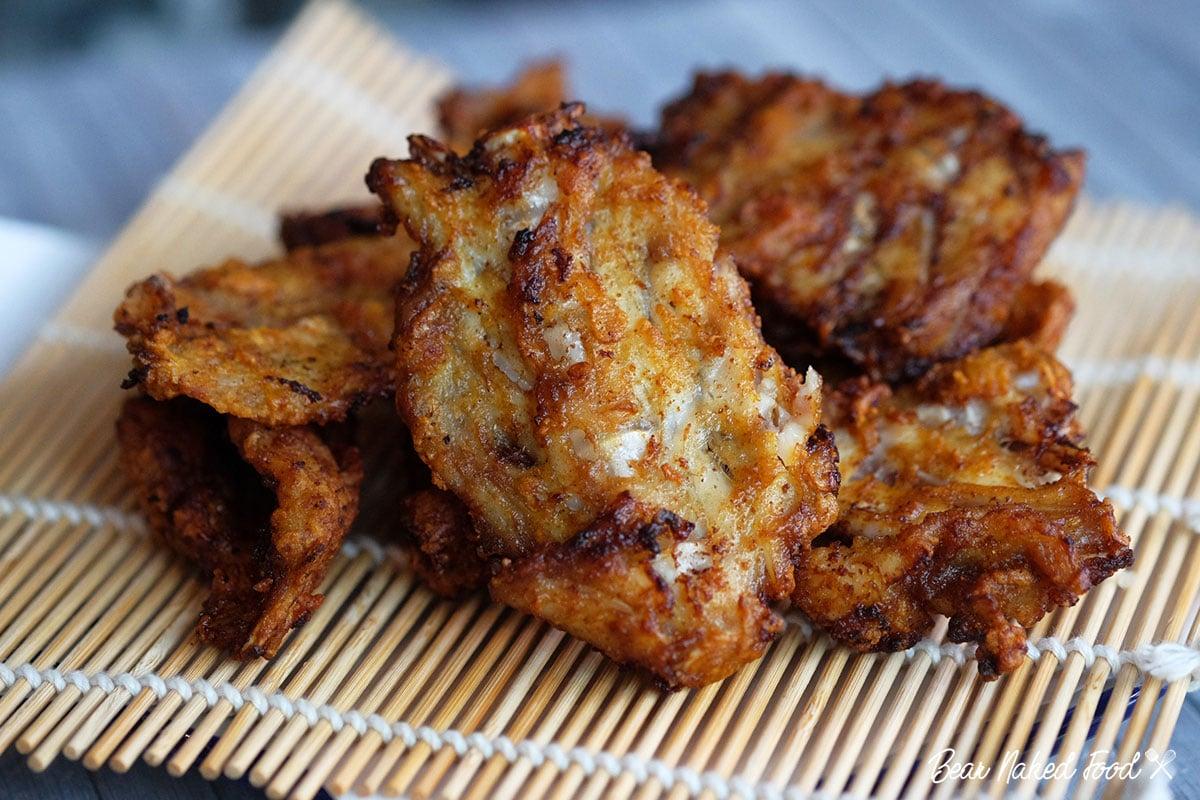 bear naked food crispy fried fish bones